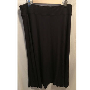 Size XL Investments A-Line Knit Skirt